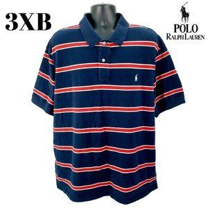 Polo Ralph Lauren Men's 3XB Striped Polo Shirt 3X